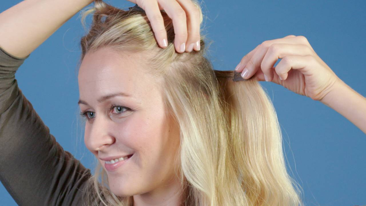 Beauty 1x1Clip Anbringen Extensions Richtig In Yb7fgy6