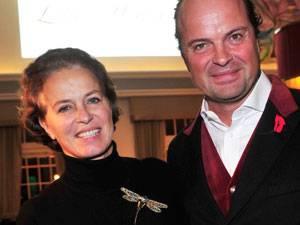 Mutter mit 54: Isabelle Baronin von Schorlemer und ihr Mann Josef Laggner