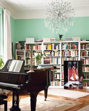 Zufluchtsort: Das Musikzimmer von Opernsängerin Nadja Michael