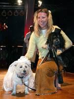 Autorin und Hundeliebhaberin Manuela von Perfall
