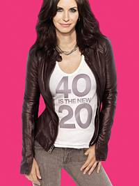 """Neue Serie: Courtney Cox' Motto in """"Cougar Town"""": """"40 is the new 20""""."""