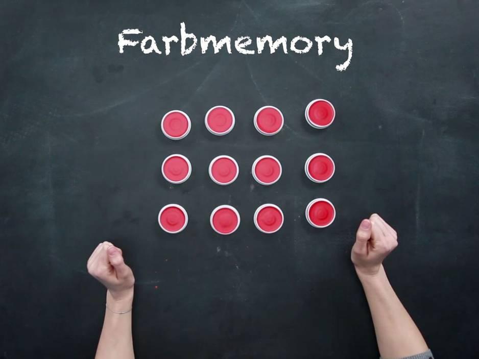 Für Kleinkinder: Farben-Memory basteln - so geht's
