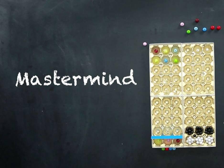 Für Kinder: Knobelspiele selber machen - Anleitung für Mastermind