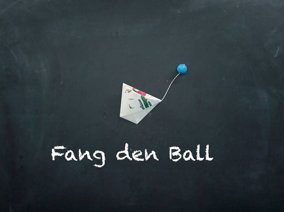 Für Kinder: Fang den Ball: Spielspaß selber basteln
