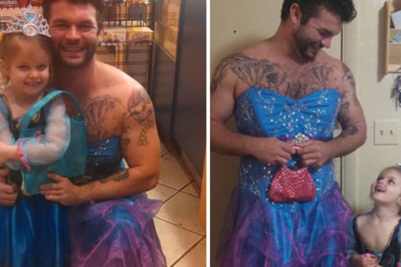Kleid mann gefangen im Männer in