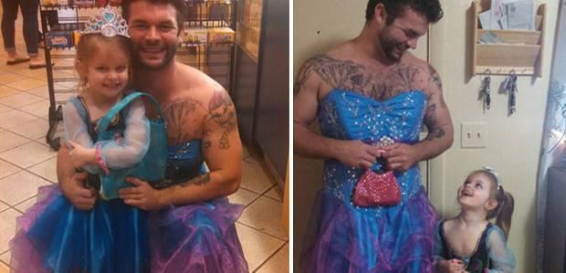 Mann ins kleid gezwungen