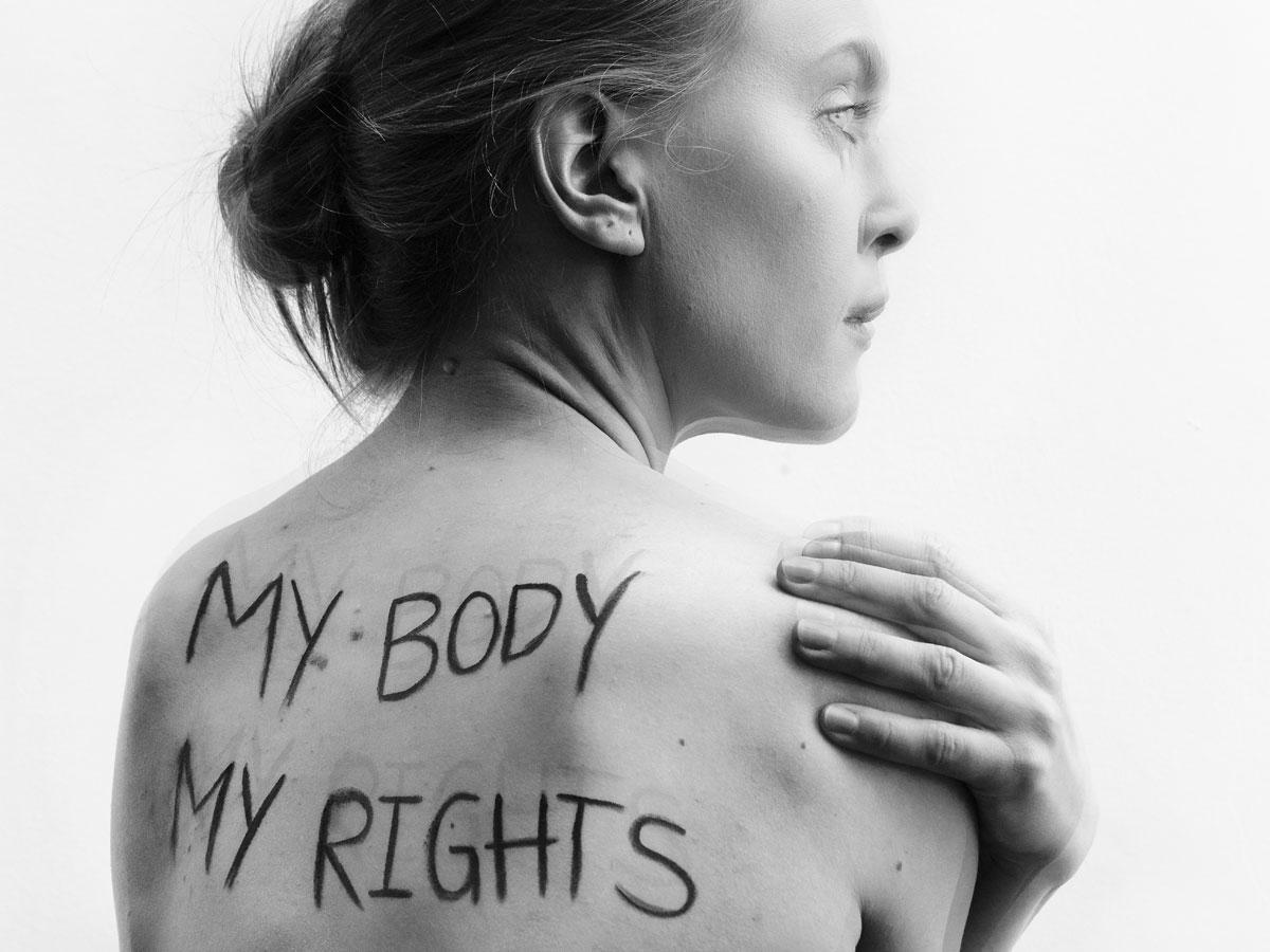 Amnesty-Kampagne: Mein Körper gehört mir!