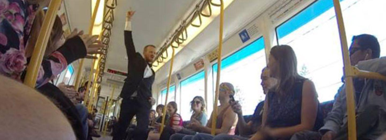 So viel Spaß kann U-Bahnfahren machen