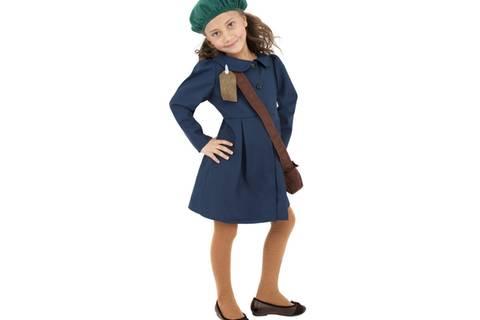 Kein Karnevals-Scherz: Das Zweite-Weltkriegs-Kostüm für Mädchen