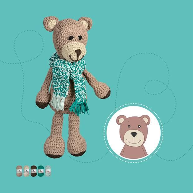 Hakelmuster Teddybar Hakeln Anleitung Fur Einen Sussen Gefahrten