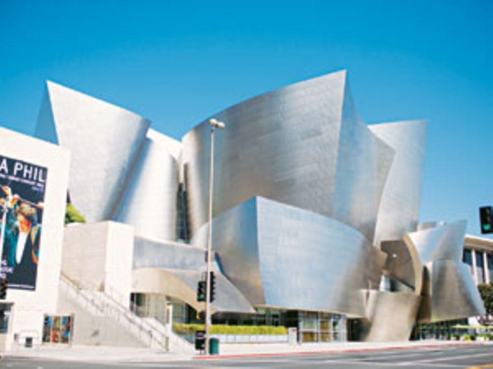 Außen hui, innen auch: die Walt Disney Concert Hall.