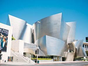 Los Angeles: Außen hui, innen auch: die Walt Disney Concert Hall.