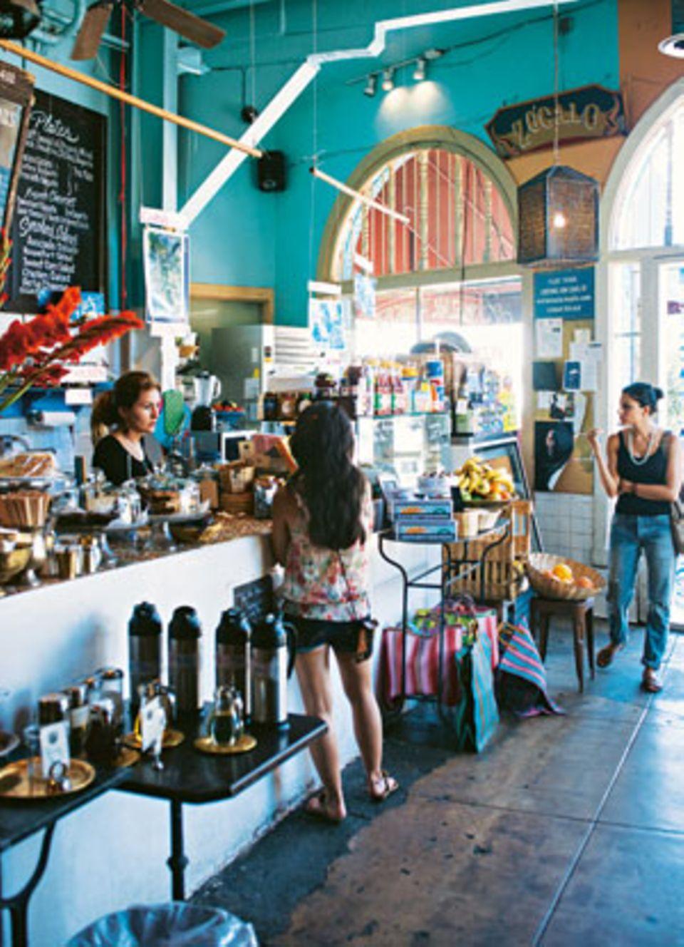 """Im """"Casbah Café"""" kreuzt man Mediterranes und Marokkanisches."""