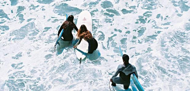Los Angeles: Malibus Surfer werden nie müde