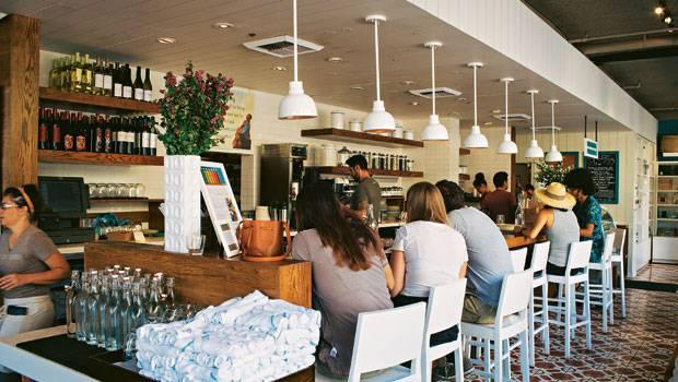 "Los Angeles: Das Konzept des ""Café Gratitude"" kommt so gut an, dass es bereits vier Cafés gibt"
