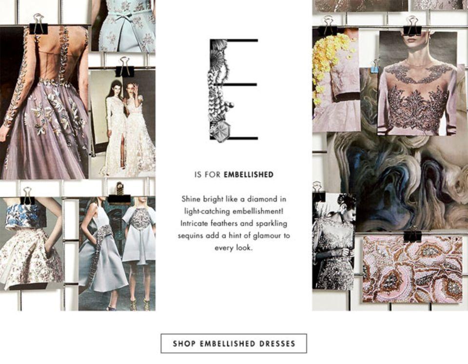 Online-Shop The Outnet veröffentlicht Mode ABC