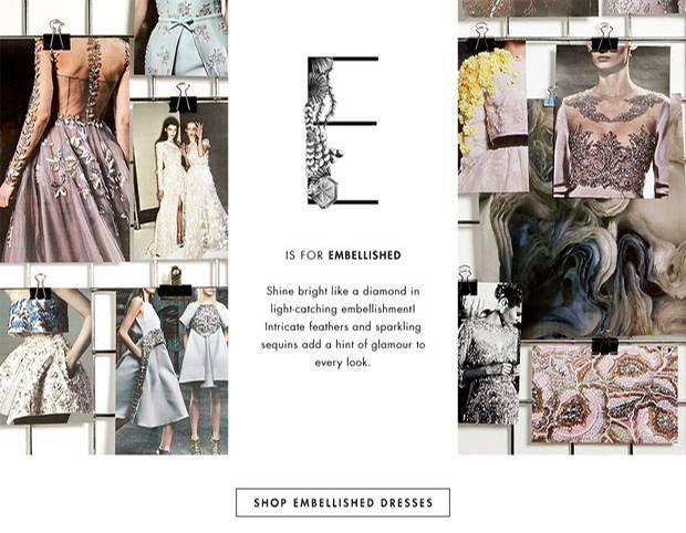 Kampagne: Online-Shop The Outnet veröffentlicht Mode ABC