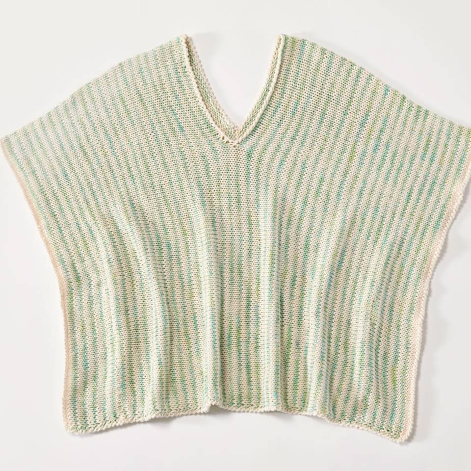 Poncho stricken - eine Anleitung zum Selberstricken