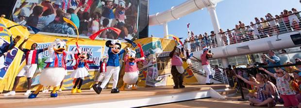 Disney Cruise Line Mit Mickey Donald Und Cinderella In Die Bahamas