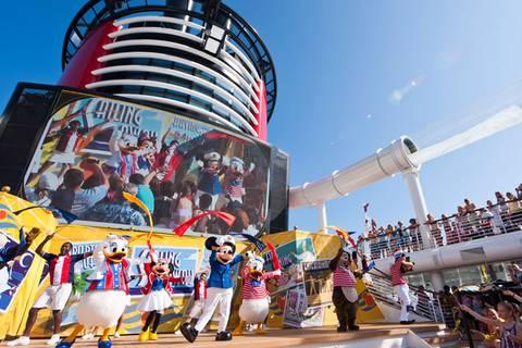 Mit Mickey, Donald und Cinderella in die Bahamas
