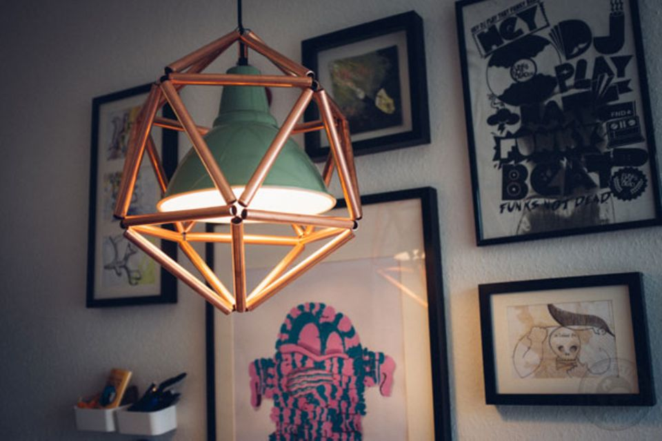 Diese Design-Lampen sind selbstgemacht!