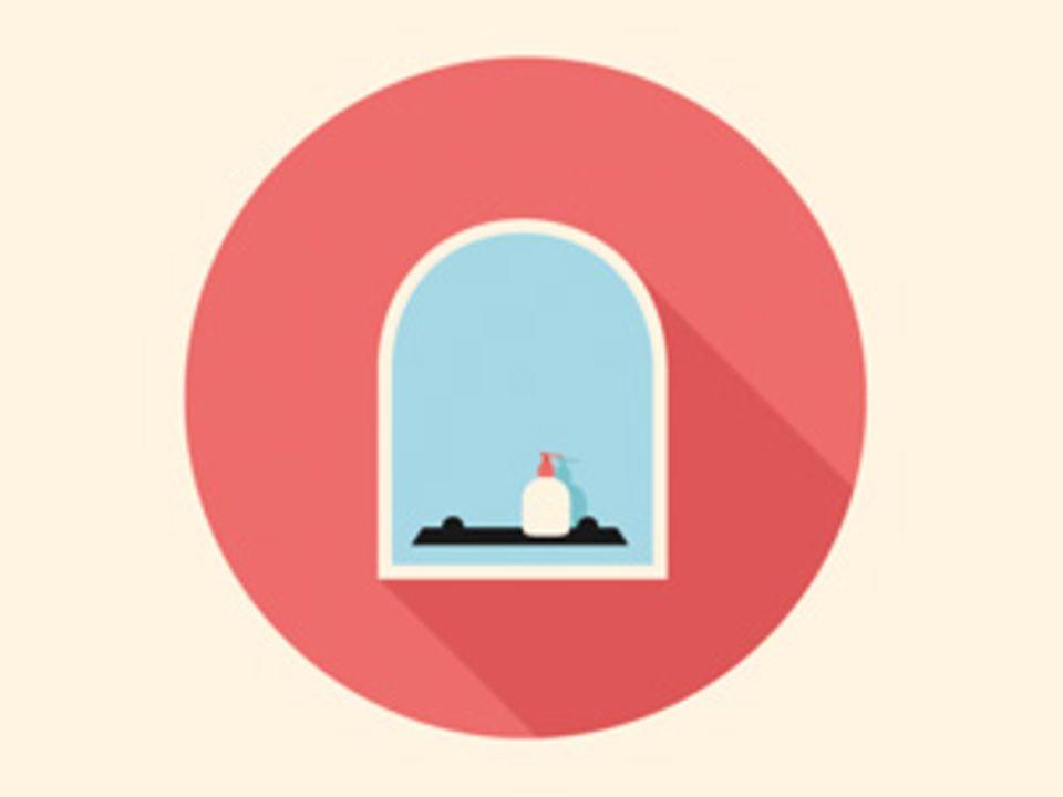 Bad putzen: Blitzblank in 15 Minuten