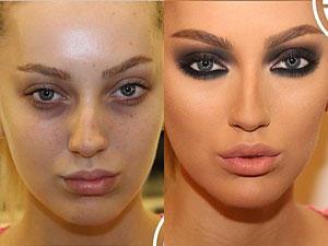 Hier kommt der Beweis, was Make-up alles kann ...