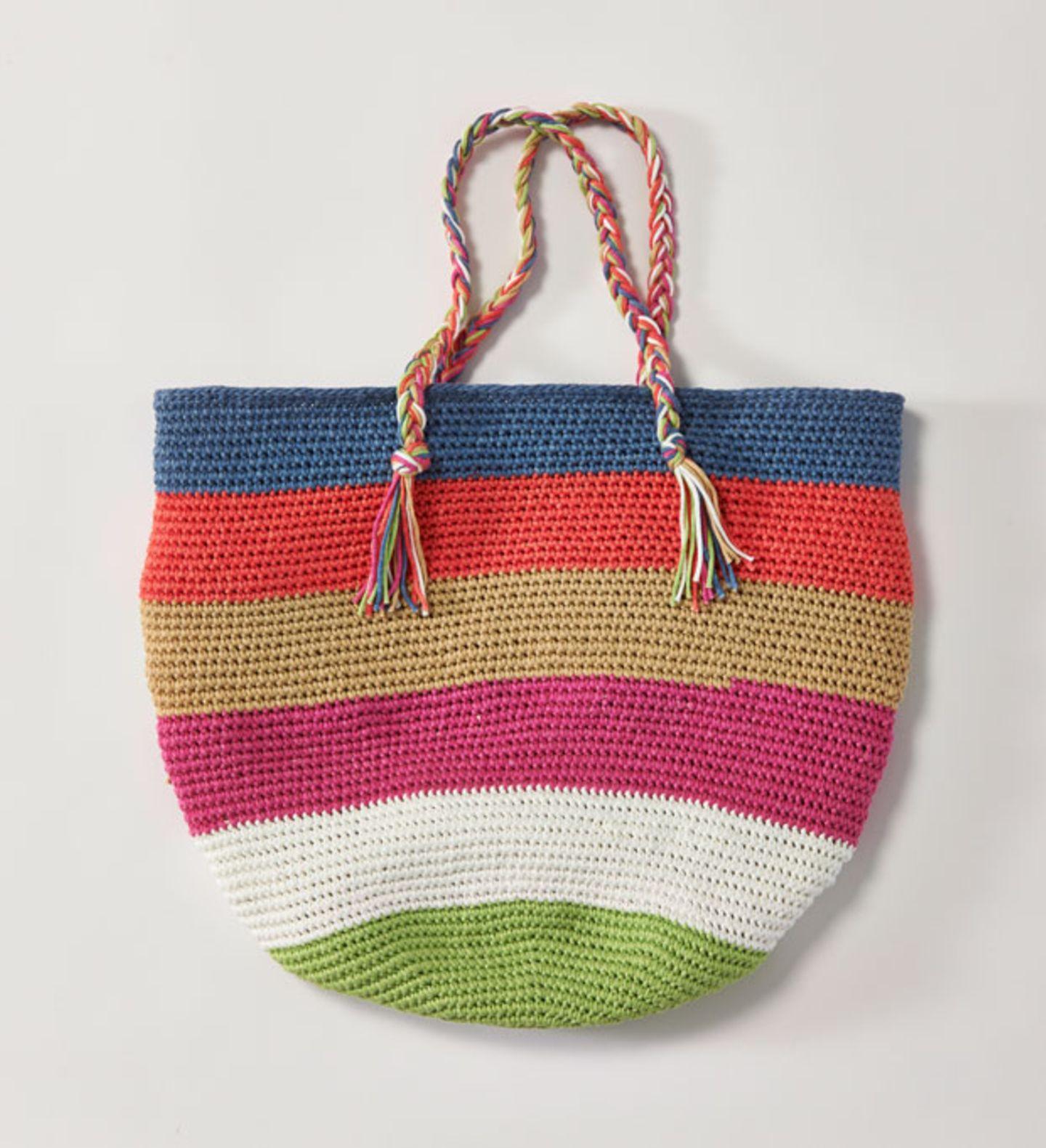 Tasche häkeln - eine Anleitung