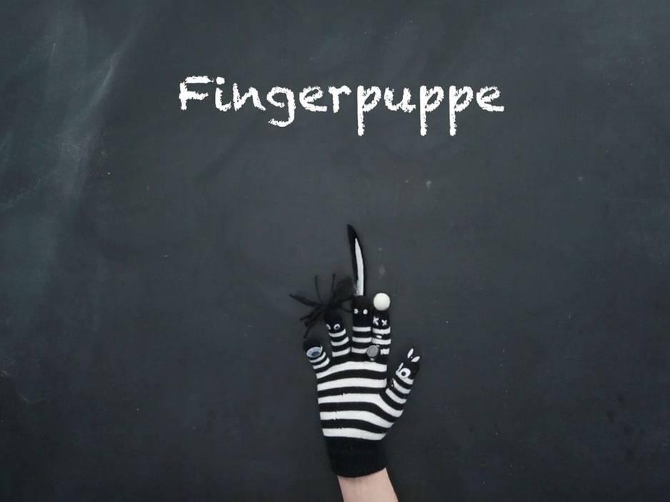 Puppentheater: Lustige Fingerpuppen basteln und selbst gestalten