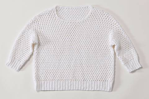 Pullover häkeln - eine Anleitung