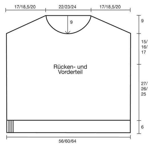 Häkelmuster: Pullover häkeln - eine Anleitung
