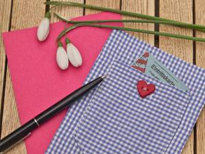 BYM.de-Selbermacher: Grußkarten zum Valentinstag: Be my Valentine!