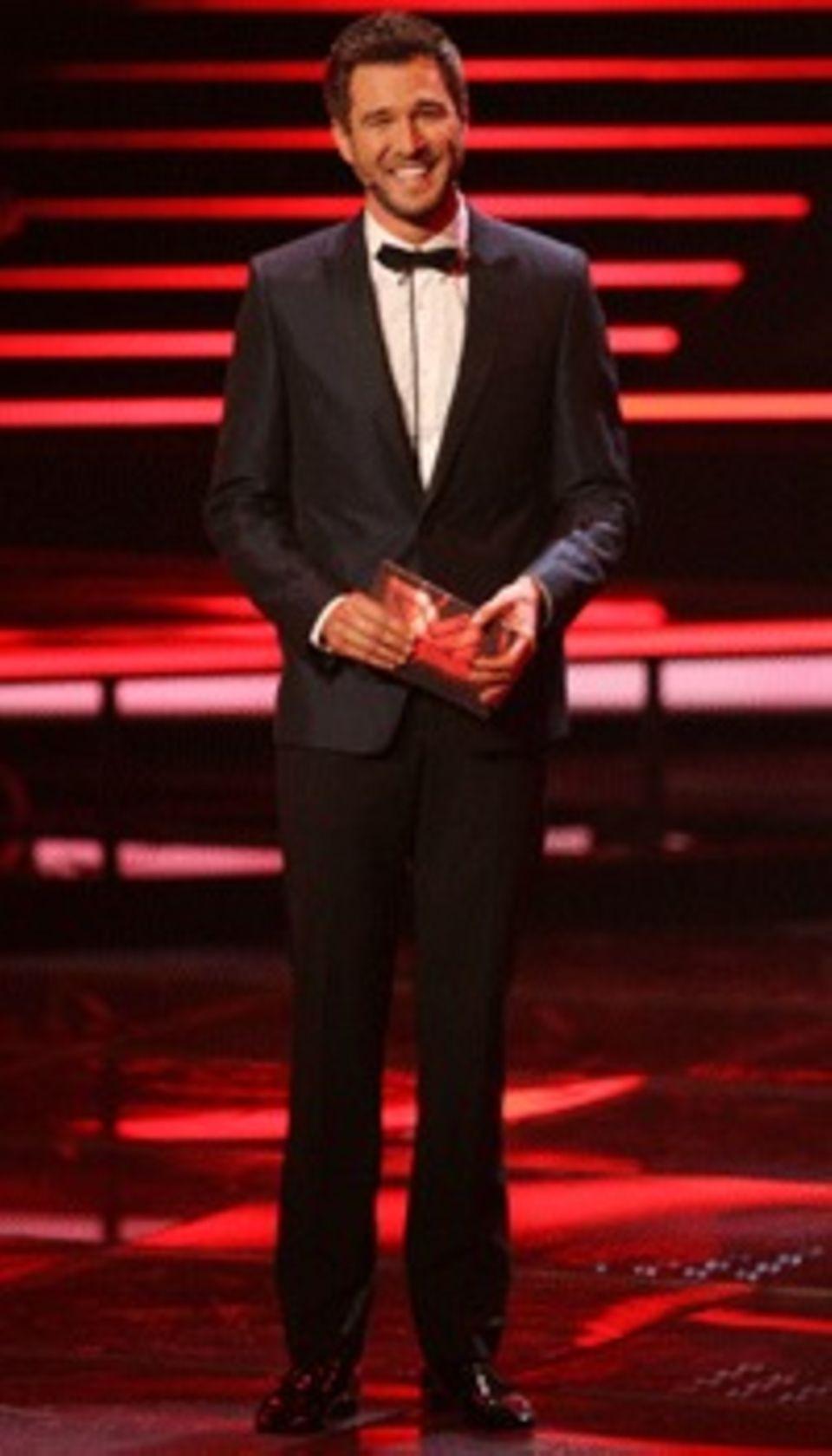 Strahlemann: Jochen Schropp moderiert X Factor.