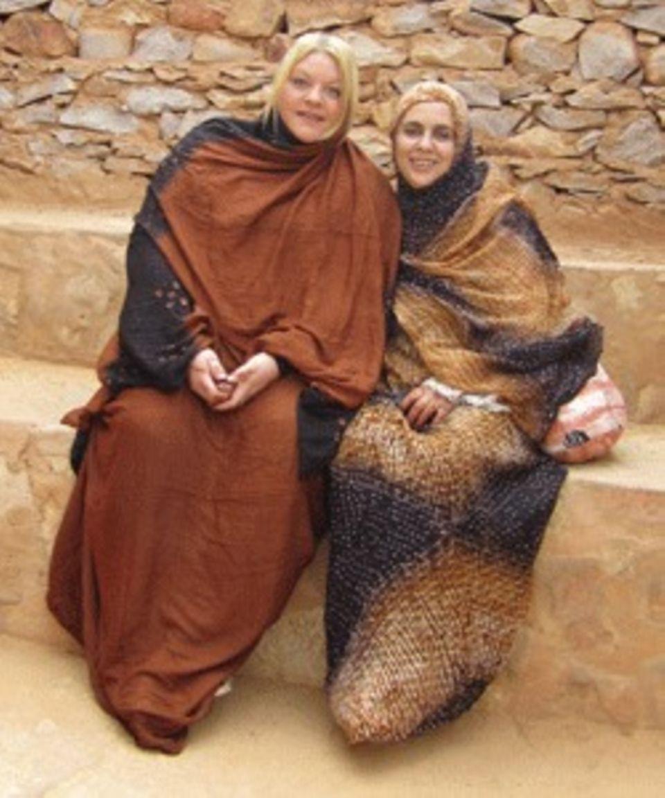Tine Wittler hat in Wafa nicht nur eine Beraterin, sondern auch eine Freundin gefunden.