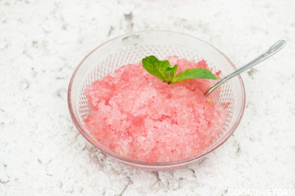 Wassermelonen-Eis - so einfach und erfrischend!
