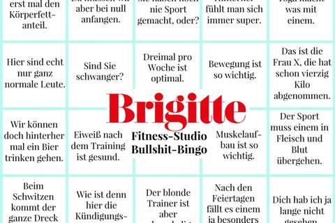 Das Bullshit-Bingo fürs Fitness-Studio