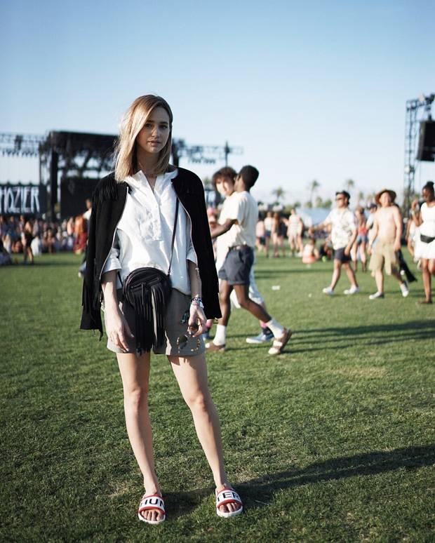 Promi-Styling: So lässig wird beim Coachella-Festival gefeiert