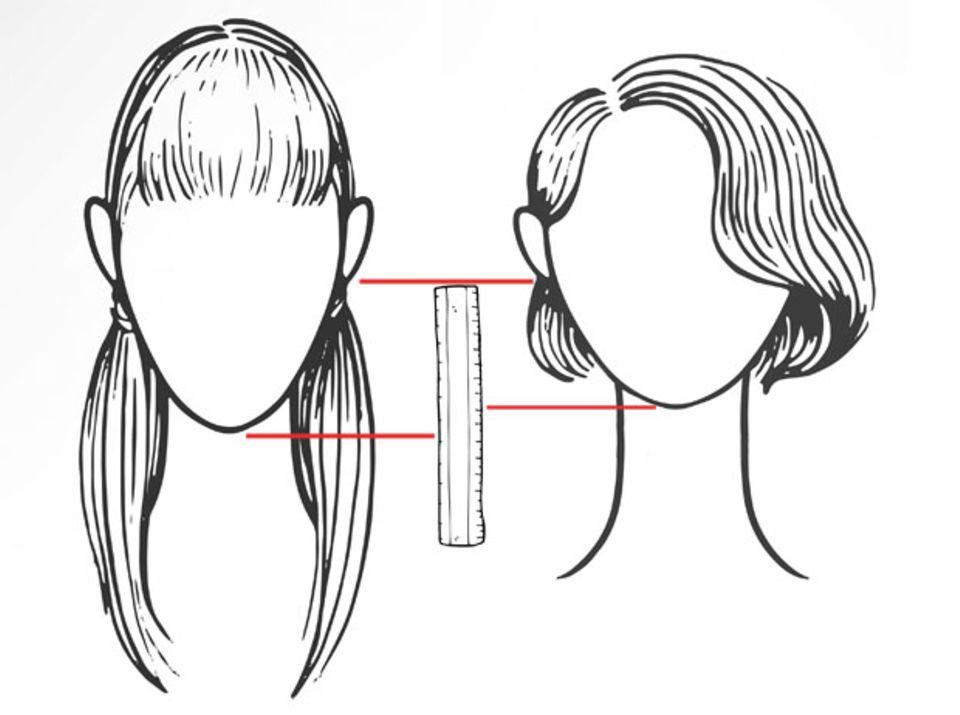 Wem steht kurzes Haar?