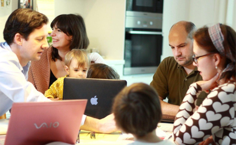 """Büro trifft Kita: """"Wir erfinden die Kinderbetreuung neu"""""""