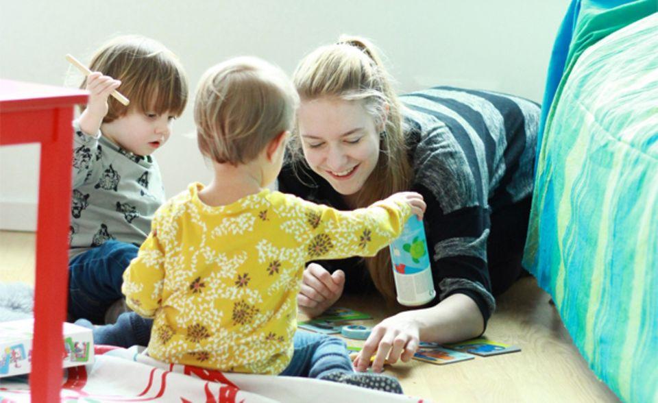 Bei Coworking Toddler werden die Kinder von professionellen Erziehern betreut.