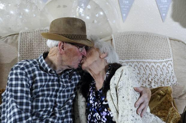 Ewige Liebe: Eine Liebe fürs Leben: Thomas und Irene Howard sind seit 84 Jahren ein Paar.