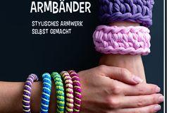Armbänder häkeln - Idee zum Selbermachen