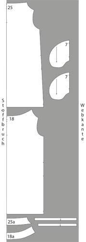 Schnittmuster: Hängerchen-Kleid nähen - eine Anleitung