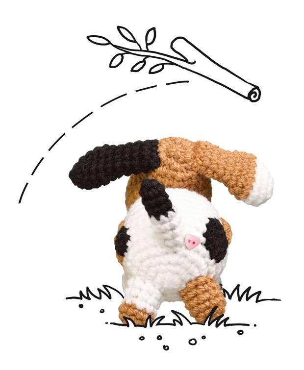 häkelmuster: hund häkeln - so geht's! | brigitte.de