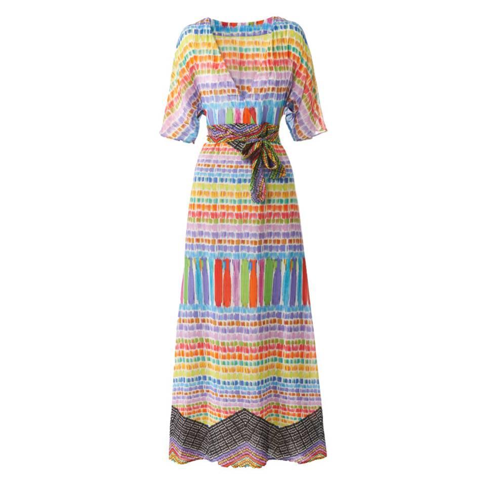 Hippie-Kleid nähen - eine Anleitung