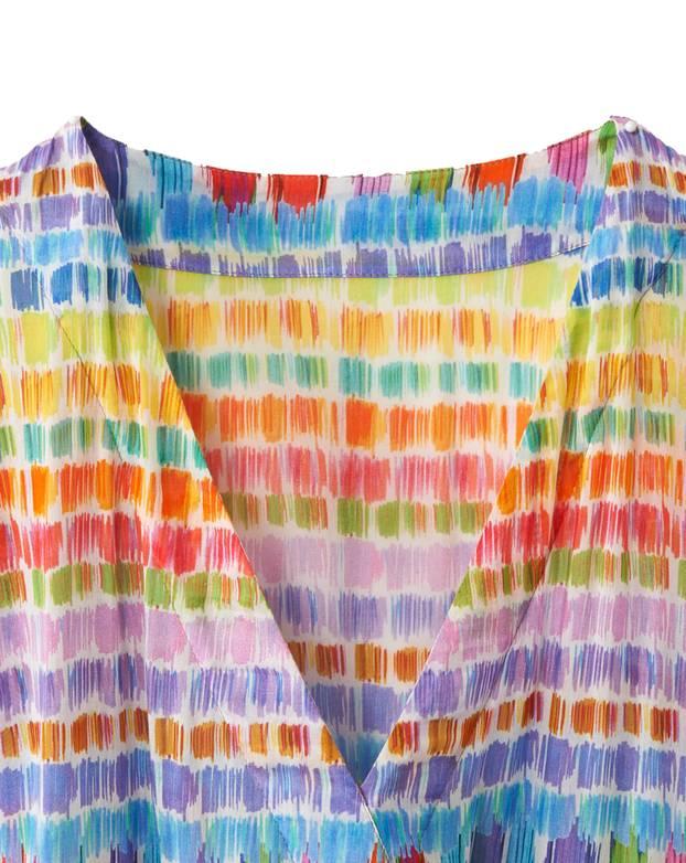 Schnittmuster: Hippie-Kleid nähen - eine Anleitung