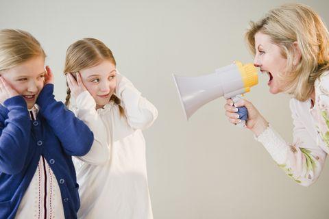 Kinder anbrüllen: Wie schlimm ist das eigentlich?