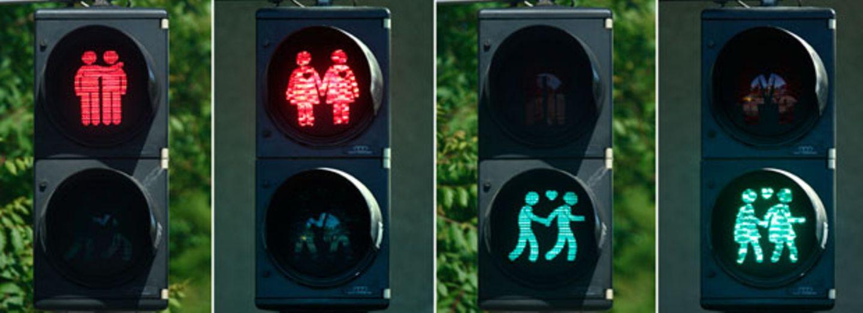Mehr Liebe! Wien setzt auf homosexuelle Ampelmännchen