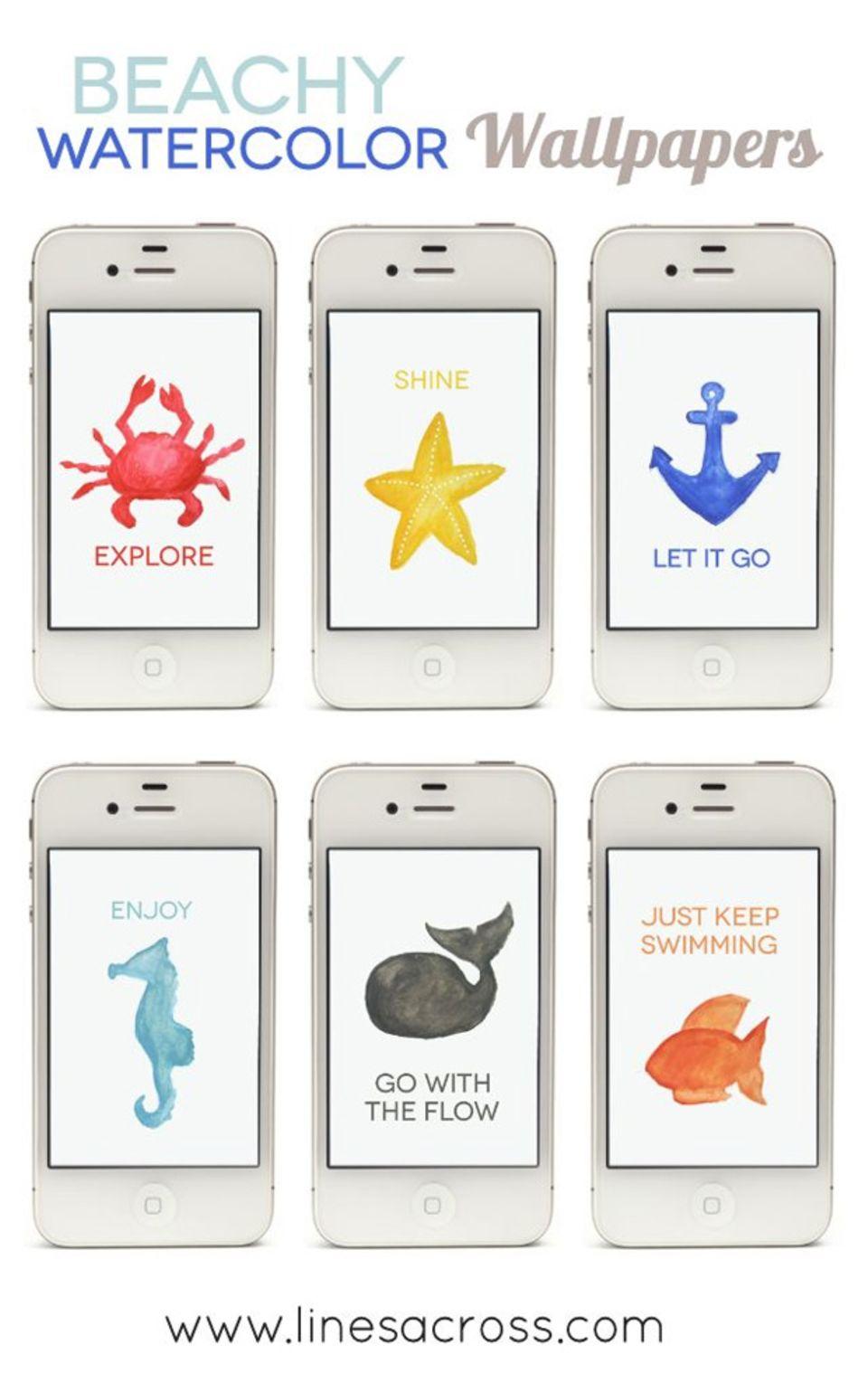 Pimp your Smartphone! Hintergrund-Motive fürs Handy