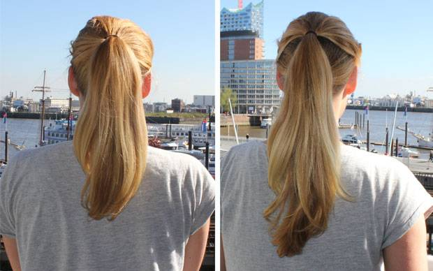 Welche frisur lasst haare langer wirken